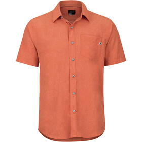 Marmot Aerobora Camisa Manga Corta Hombre, picante